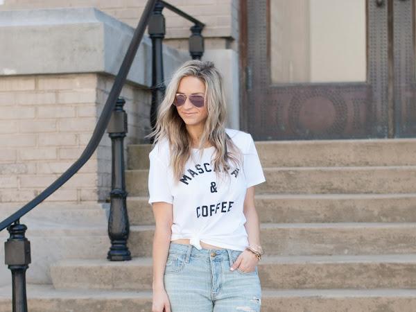 Graphic Tee & Boyfriend Jeans