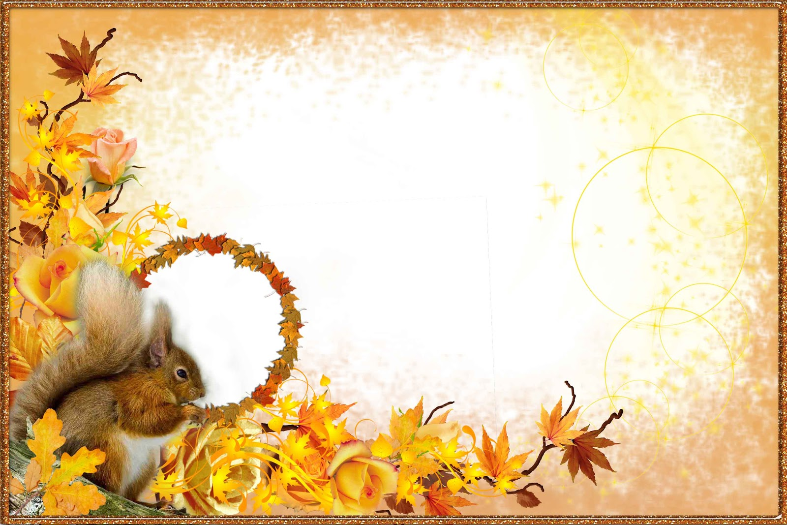 Fall Owl Wallpapers Autumn Png Frame Png Frame