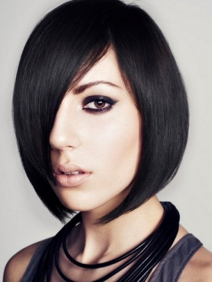 Peinados Y Cortes Para Mujer Peinados Con Tintes De Color Negro