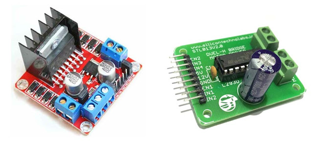 Robotech Maker Arduino Robot Using L293d Or L2998n Motor