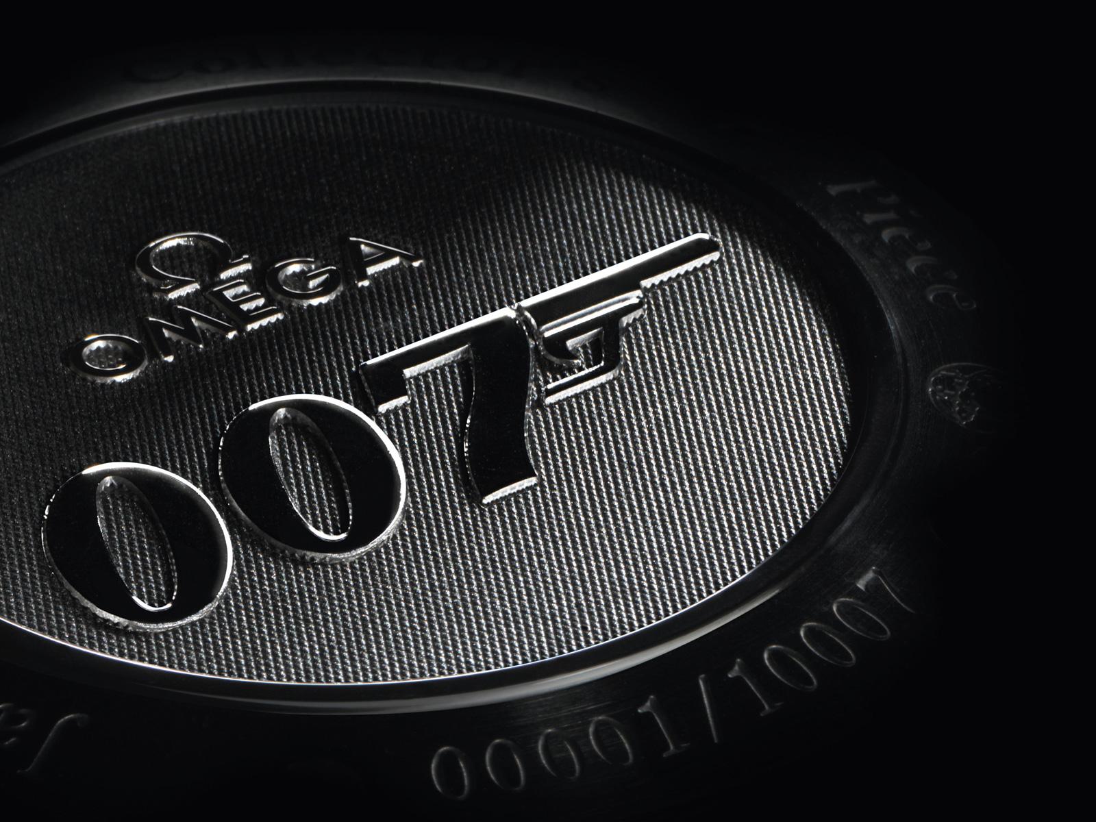 Desktop Wallpaper Omega Seamaster Watch 007 Logo Desktop