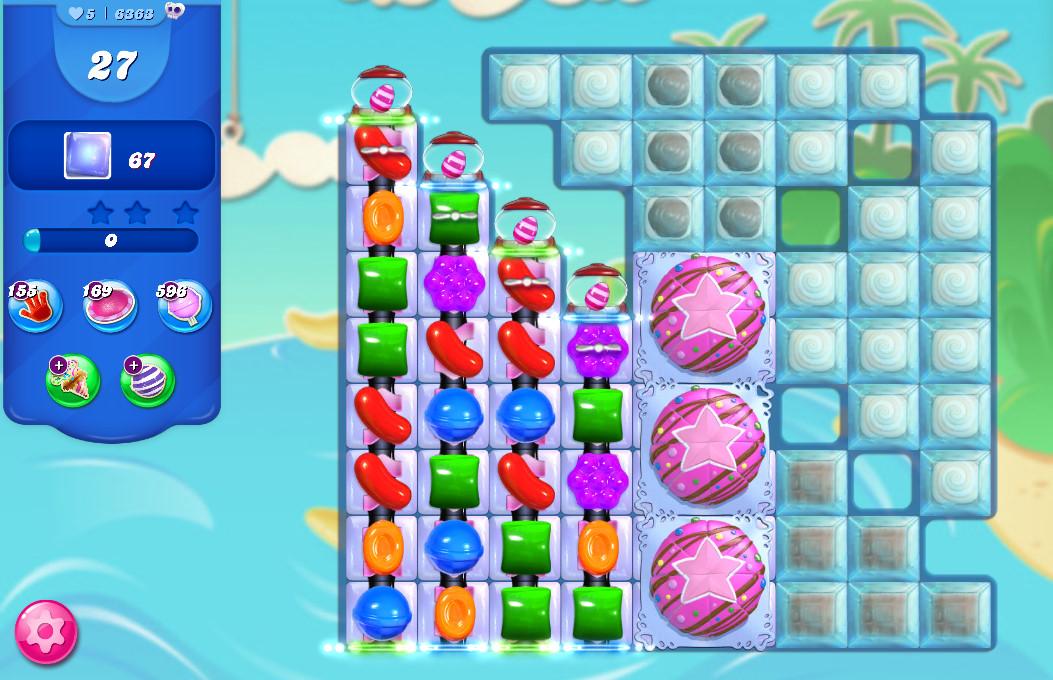 Candy Crush Saga level 6363