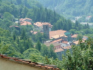 The mountain village of Orsigna, in the Apennines above Pistoia in Tuscany