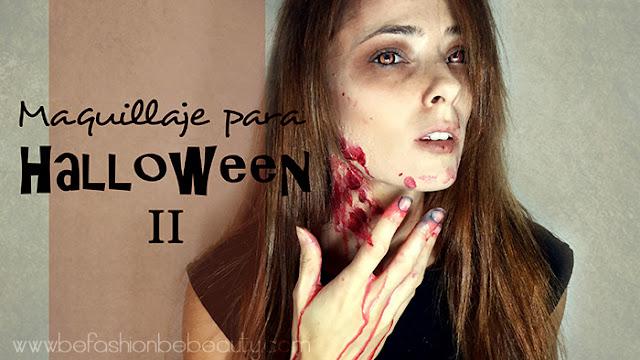 Maquillaje para Halloween | Mi primer maquillaje FX.