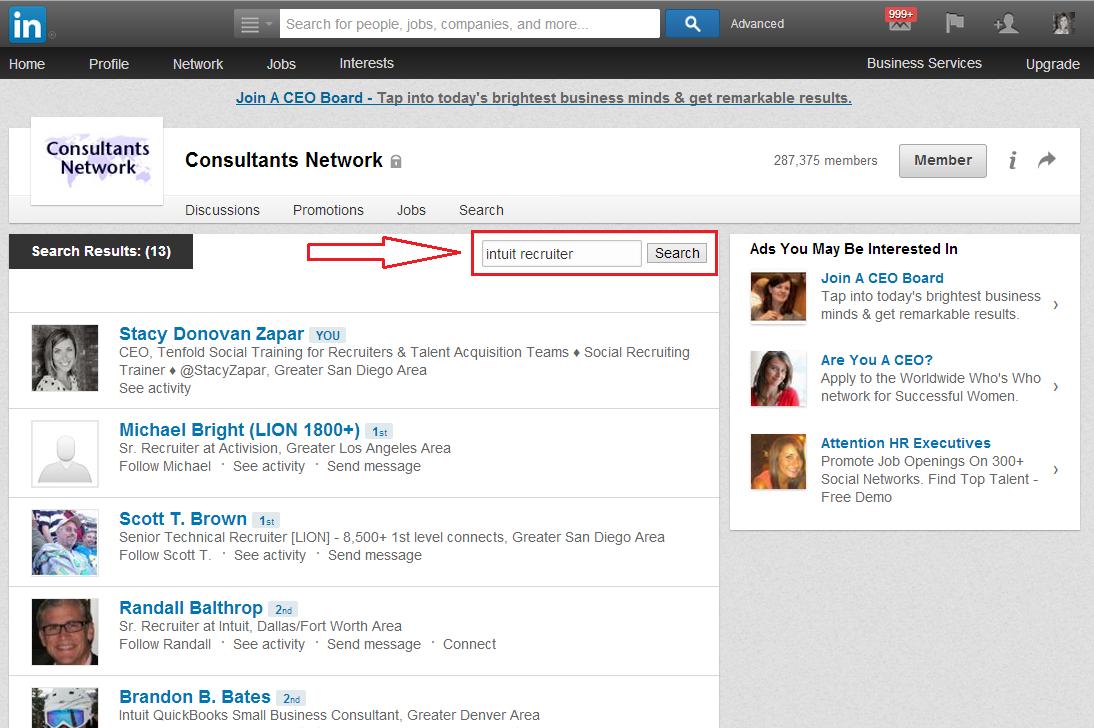 How to Message LinkedIn Group Members | @StacyZapar