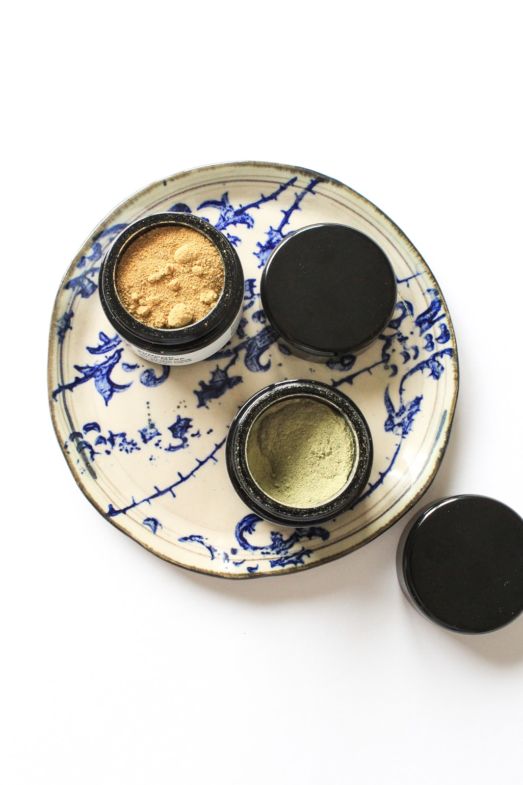 Earthwise Beauty Sungod and Catharsis Face Mask. Powder, potent, active, organic
