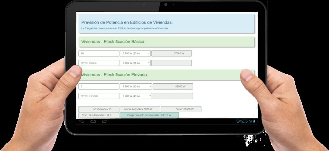 Web App : Cálculo de Previsión de Cargas ITC-BT-10 ( REBT ...
