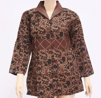 Baju Seragam Batik Guru Lengan Panjang
