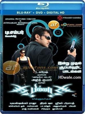 Billa Tamil Movie Download (2007) HD 720p BluRay 999mb