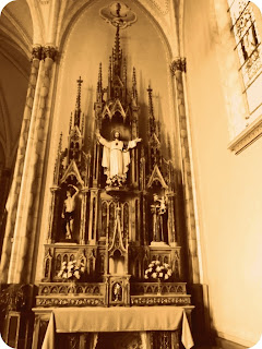 Altar Lateral da Matriz de Bom Jesus