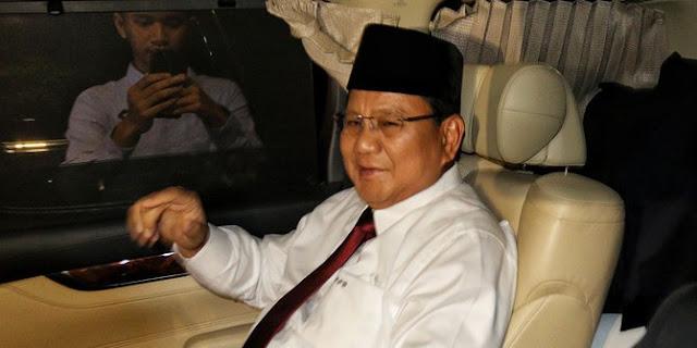 Sudah Tiga Hari Sakit, Prabowo Batal Hadiri Konsolidasi Nasional PKS