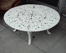 Uhuru Furniture & Collectibles Sold #4329 Vintage Wrought