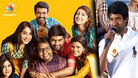 Imman forgot us after seeing heroines : Soori Comedy Speech | Gemini Ganeshanum Suruli Raajanum