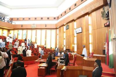 Nigeria Senate chamber