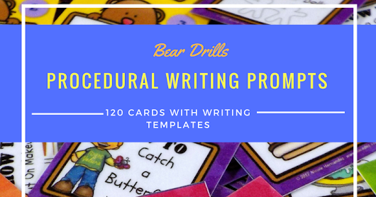 Procedural Writing Prompts and a Freebie
