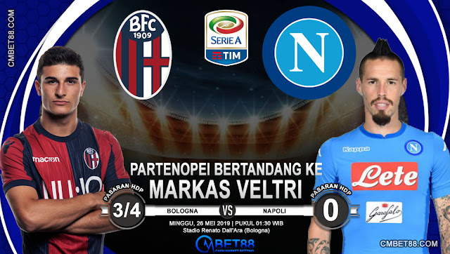 Prediksi Bola Bologna VS Napoli