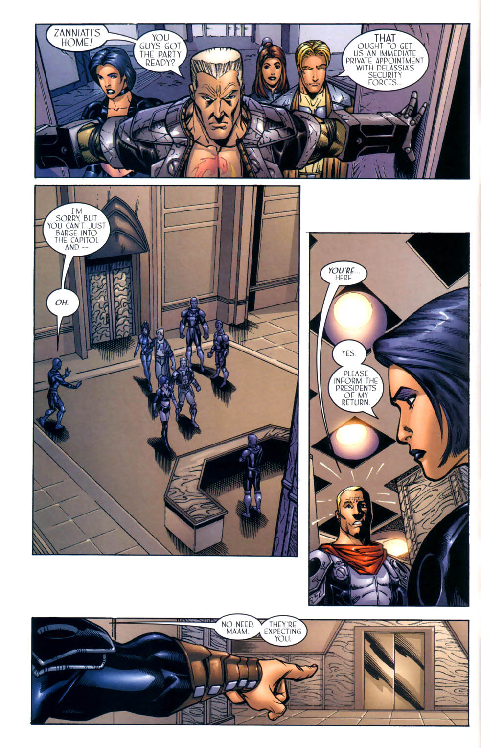 Read online Sigil (2000) comic -  Issue #8 - 16