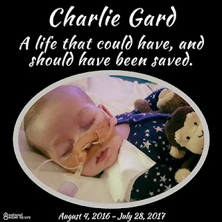 Charlie Gard - A life that could have, and should have been saved.