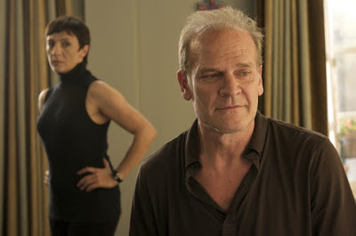Lluís Homar (as Harry Caine) and Blanco Portillo in Broken Embraces, Directed by Pedro Almodóvar