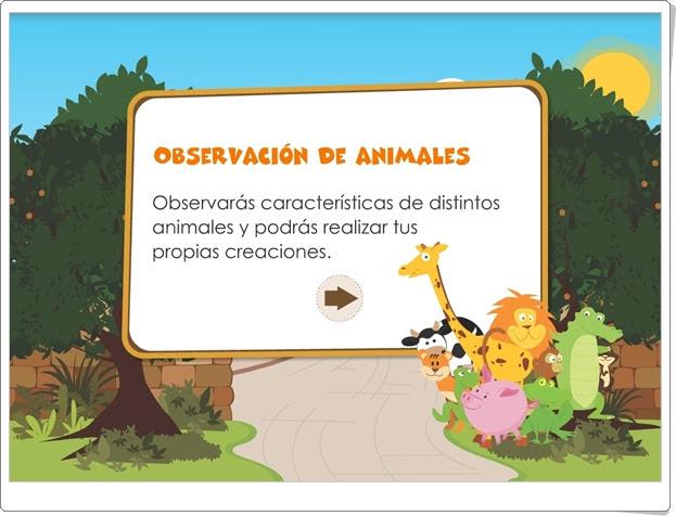 """""""Observación de animales"""" (Juego de Ciencias Naturales de 1º y 2º de Primaria)"""