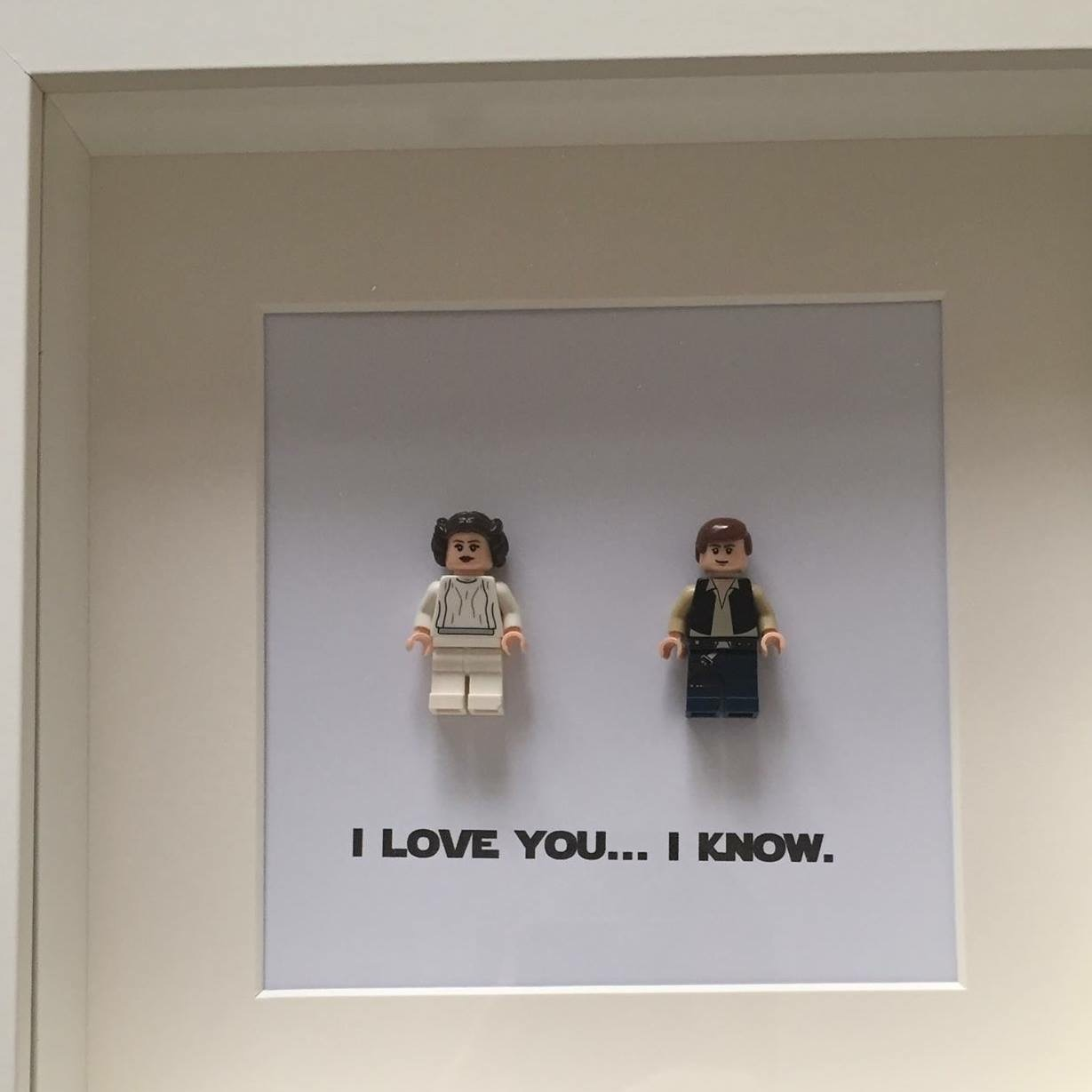 Lego Han and Leia
