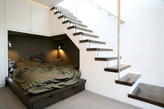 habitación bajo escalera