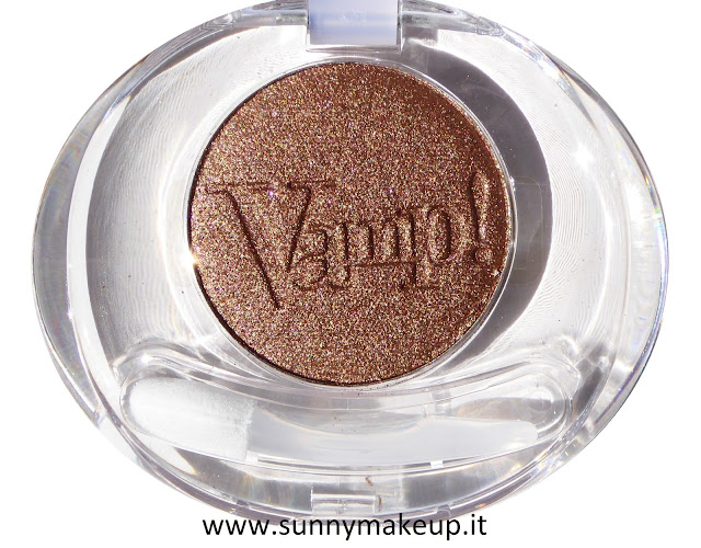 Pupa - Coral Island. Vamp! Compact Eyeshadow. L'ombretto nella colorazione 002 Bronze Passion.