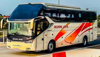 Harga Tiket Bus Murni Jaya Khusus Lebaran 2019 Dari Jabodetabek