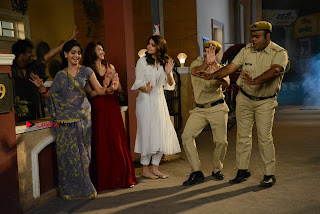 Saumya Tandon Aasif Sheikh Anushka Sharma Shubhangi Atre and Rohitash Gaud on the sets on Bhabhi Ji Ghar Par Hai  0002.JPG