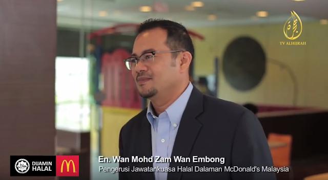 McDonald's Malaysia Mematuhi Piawaian Halal Jakim - Penasihat Bebas