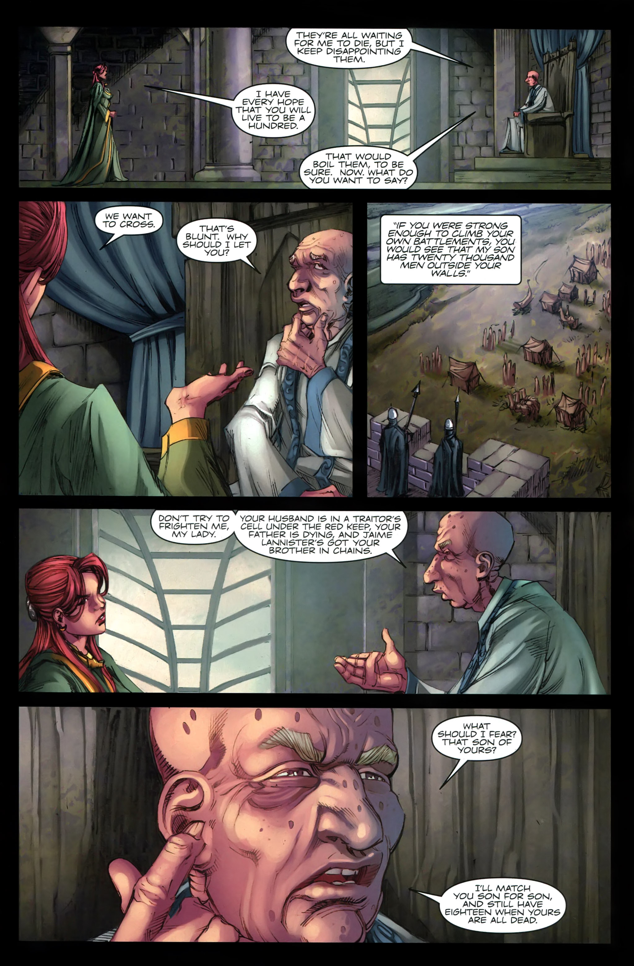 Read online A Game Of Thrones comic -  Issue #19 - 23