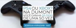 Cadastrar Promoção Dumont FM PS4 e Xbox One Ganhar Os Dois de Uma Vez Só