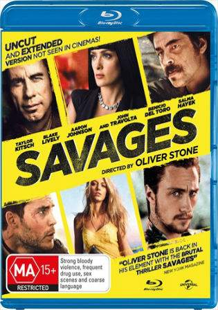 Savages 2012 BRRip 450MB Download UNRATED Dual Audio 480p Watch Online Full Movie Download bolly4u