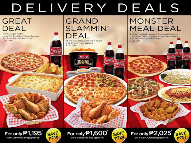 shakey's philippines delivery