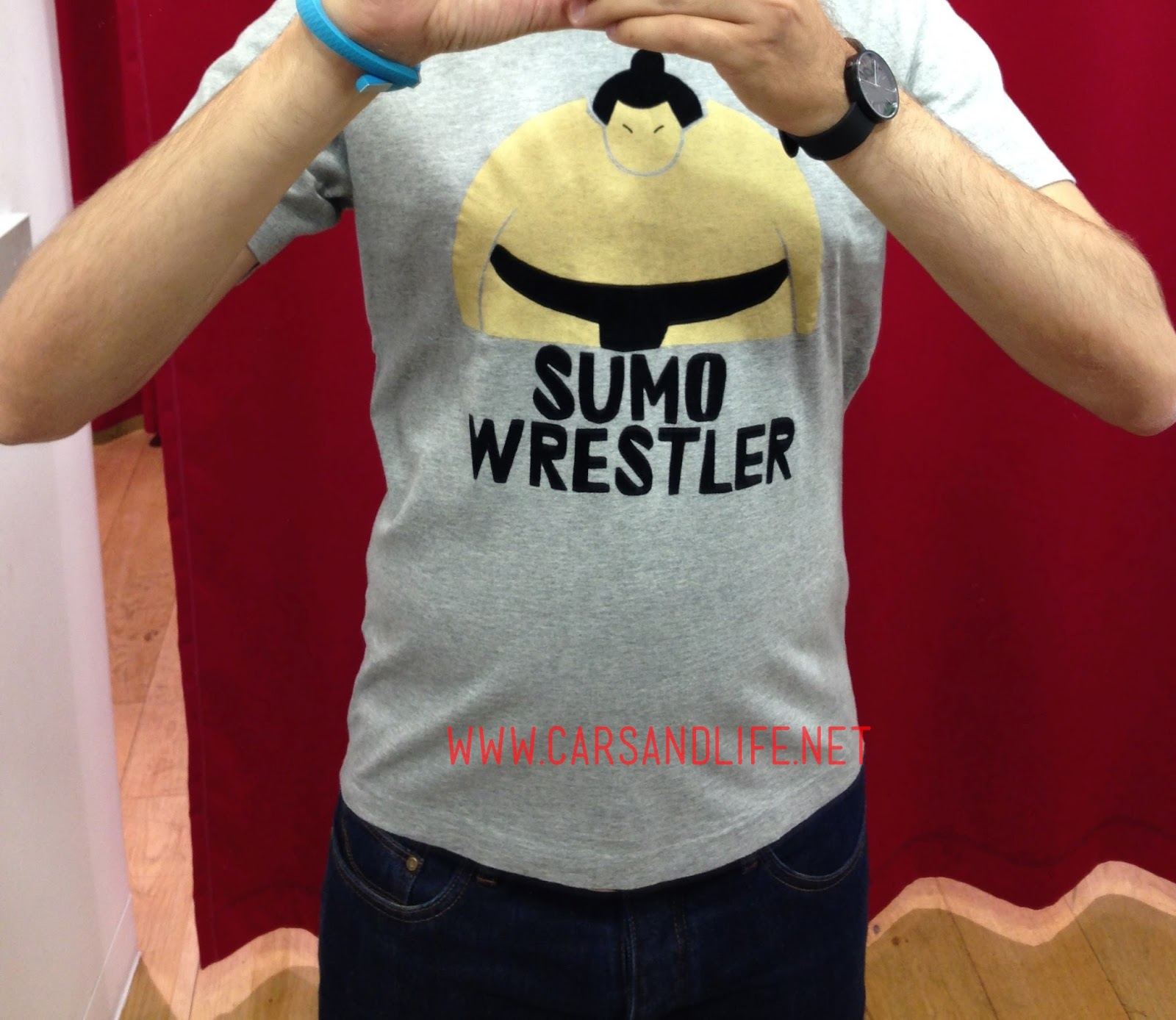 Coolest T-Shirt from Uniqlo | Sumo Wrestler