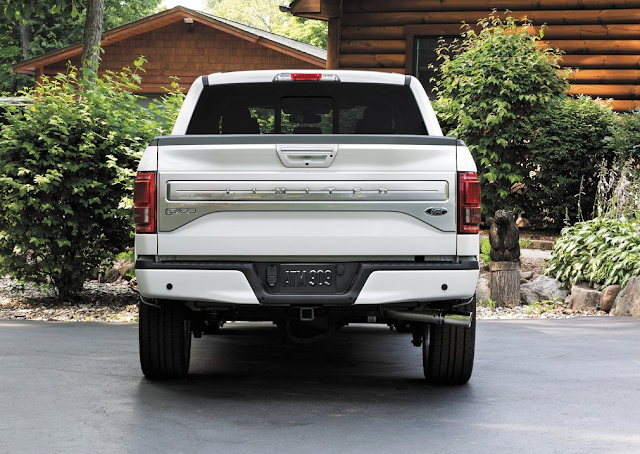 2016 Ford F-150 Platinum rear