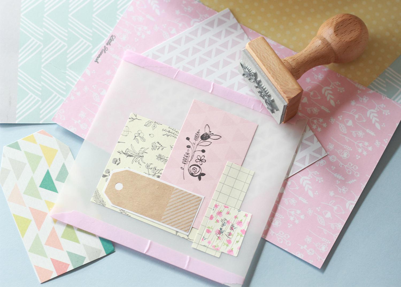 Little hannah cinco ideas para hacer tus propios sobres for Papel para oficina