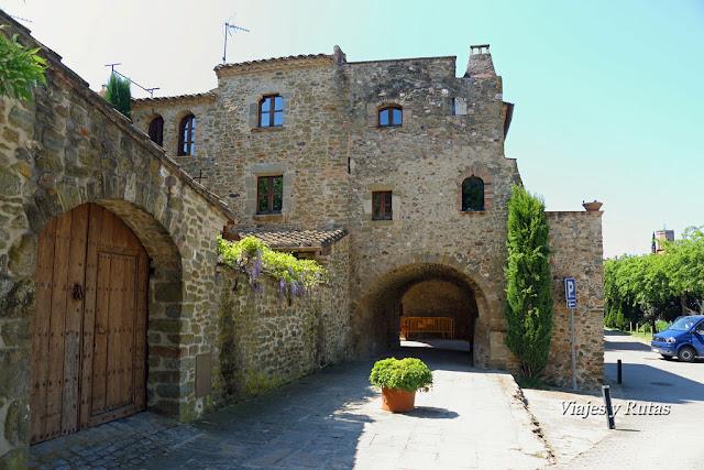 Calle de los Arcos de Monells, Girona