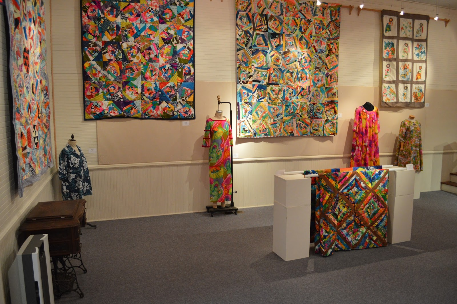 Create a hawaiian quilt design