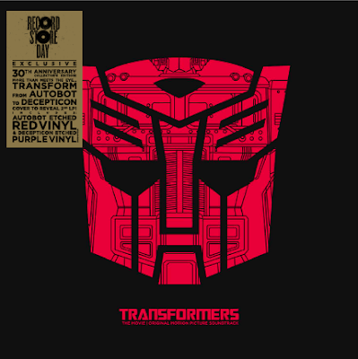 Black Friday Exclusive Transformers Soundtrack 30th Anniversary 2xLP Soundtrack Album
