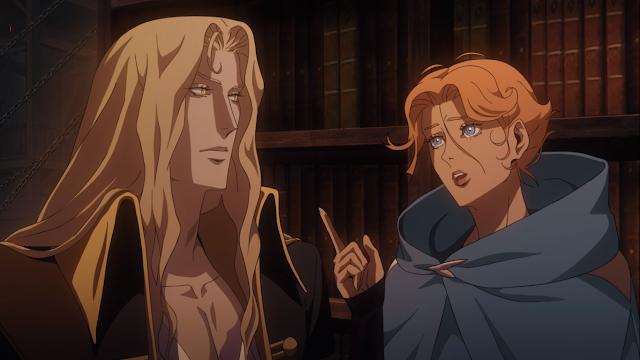 Alucard-e-Sypha-segunda-temporada-Castlevania