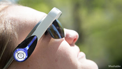 Google Glass Mashable Bluetooth