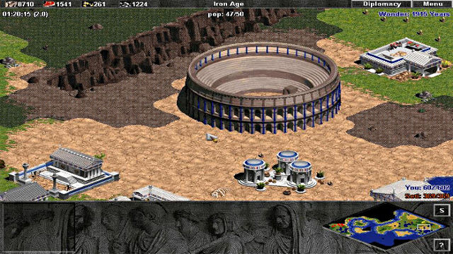 Age of Empires: The Rise of Rome (Demo) - Image du Jeu