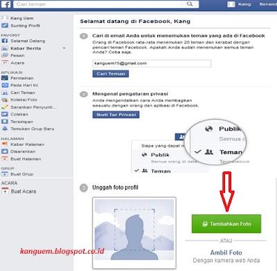 Cara Mudah dan Cepat Membuat Akun Facebook