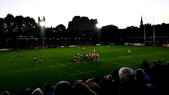 Bath vs gloucester rugby match