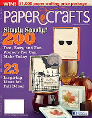 Paper Crafts Magazine Cover