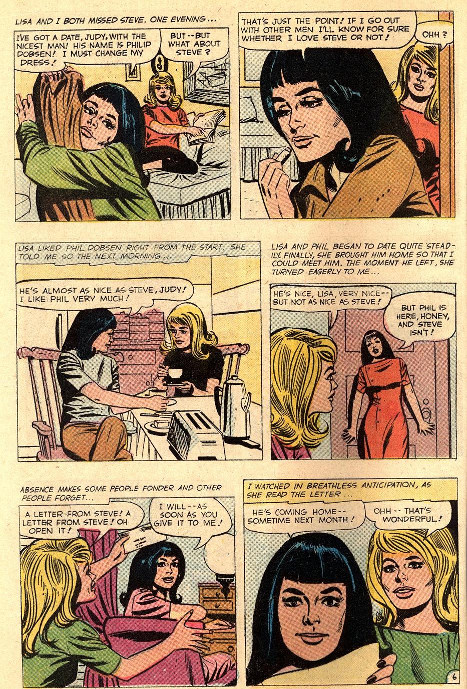 Read online Secret Hearts comic -  Issue #150 - 20