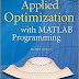 Applied Optimization with MATLAB Programming 2nd Edition