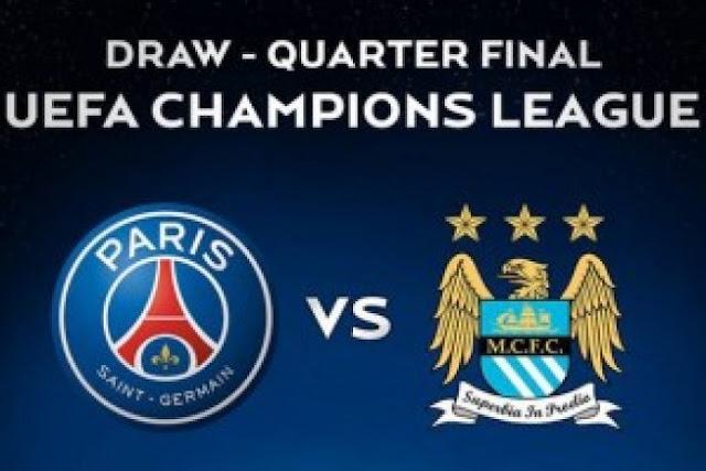 Liga Champions : Prediksi PSG Vs Manchester City 7 April 2016