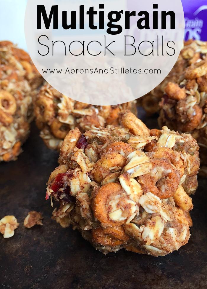 Multigrain Snack Balls Recipe
